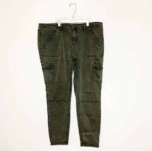 MOSSIMO Super Stretch Mid-Rise Jegging